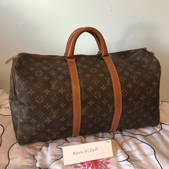 7f2658f3c5e Louis Vuitton Handbags - Louis Vuitton French Company Speedy 45 EUC